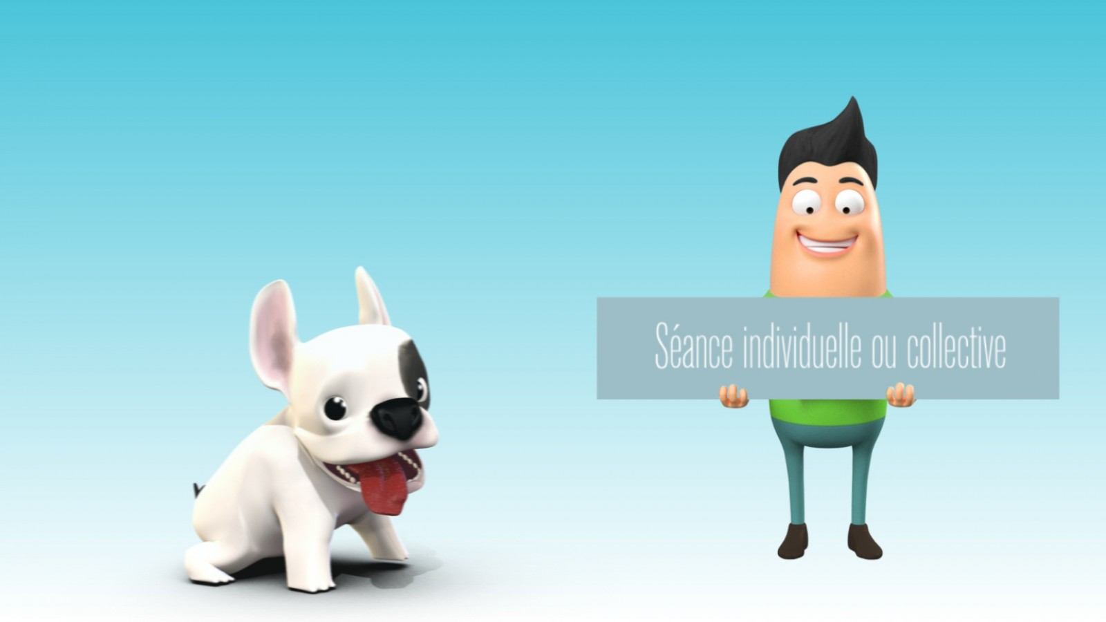 Happy pet's-film d'animation