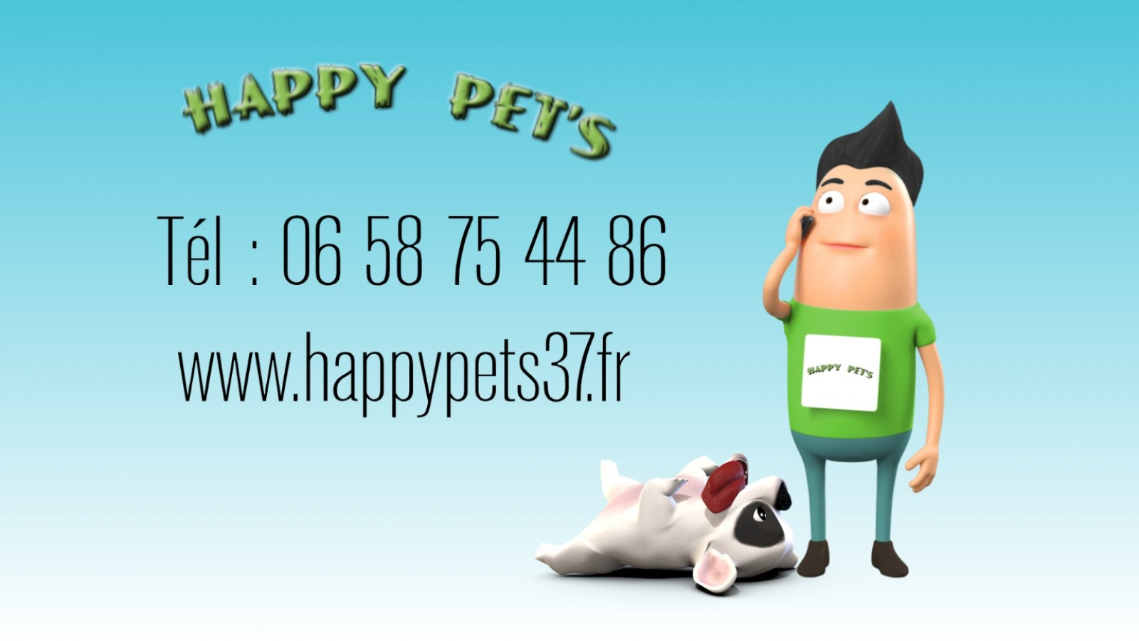 Happy pet's-marketing vidéo