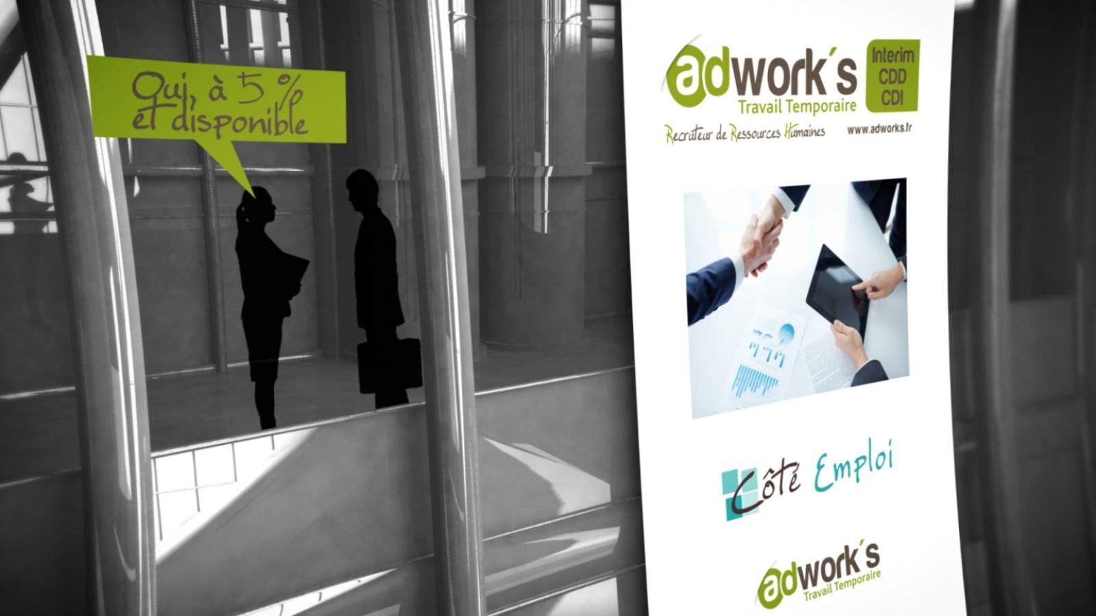 Adworks-Travail intérimaire
