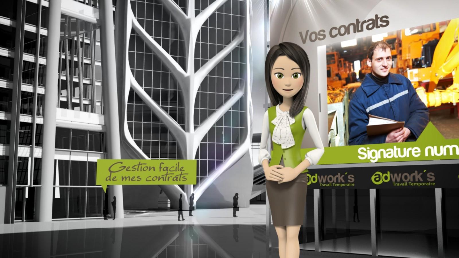 Adworks-vidéo d'entreprise