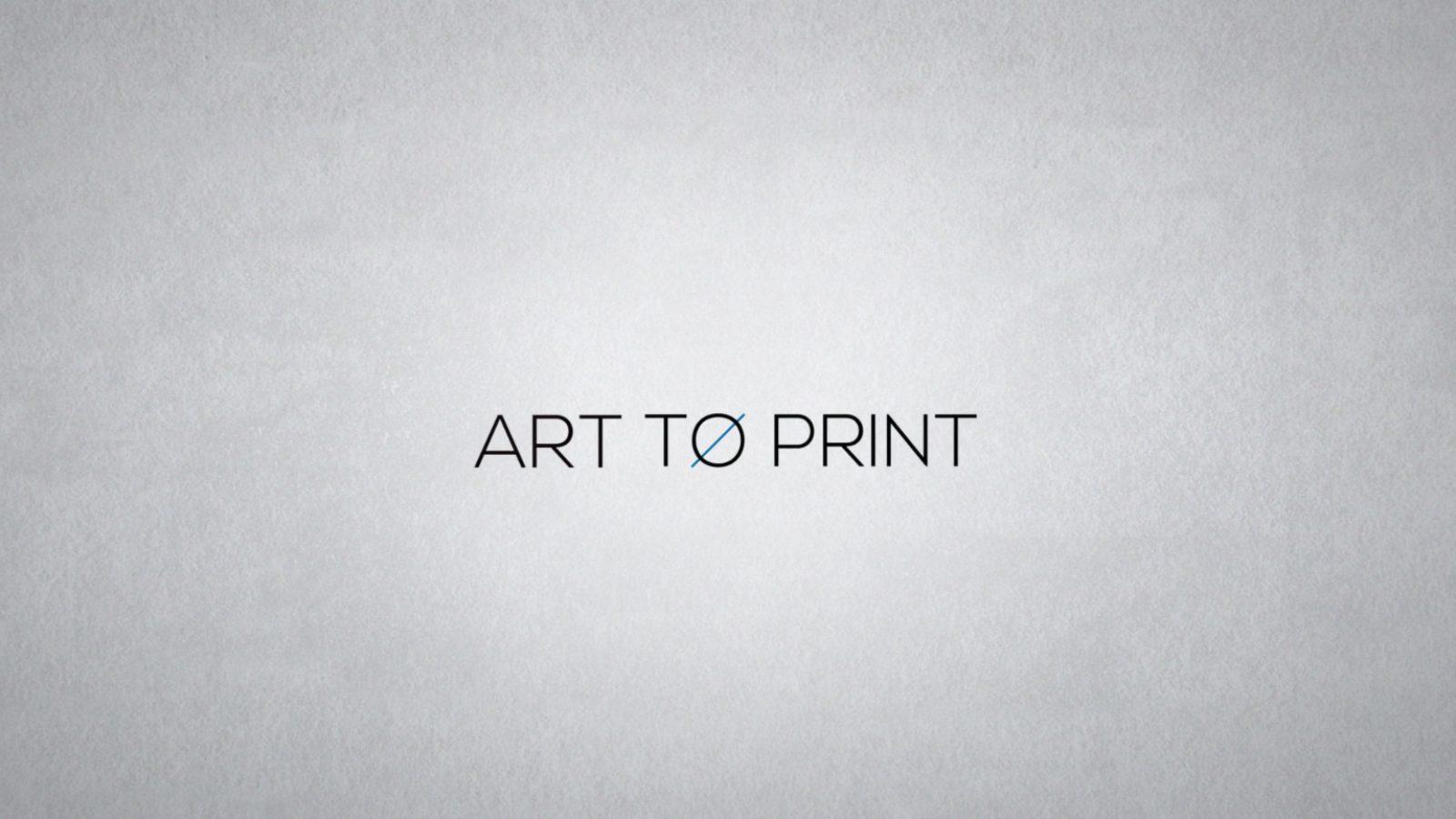 Art to print-vidéo savoie